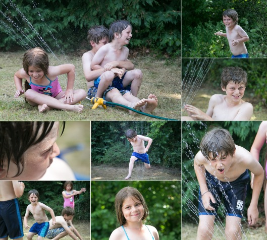 waterfun collage